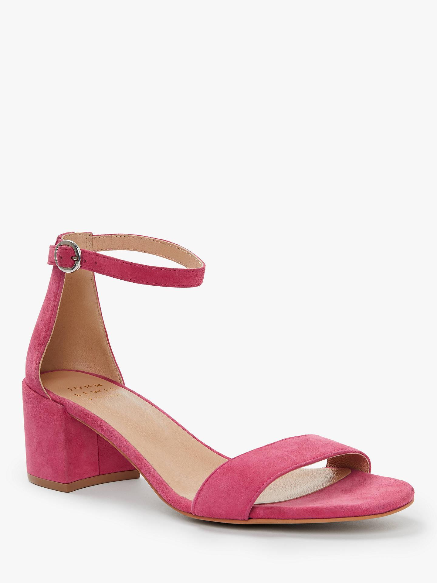 8bbe3461173 John Lewis & Partners Clea Ankle Strap Block Heel Sandals at John ...