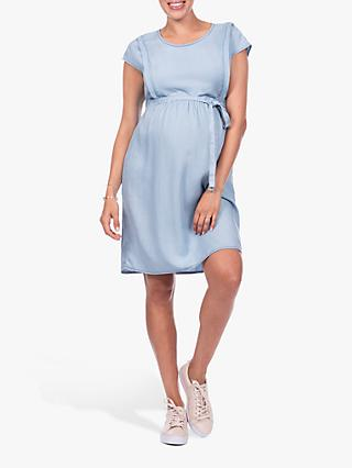 67af2d60887bc Séraphine Alaska Tencel Maternity Nursing Dress, Chambray