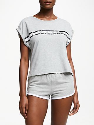28cdd8eece82 Calvin Klein Logo Shorts Pyjama Set