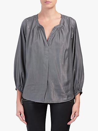 Velvet by Graham & Spencer Carla Top, Gunmetal