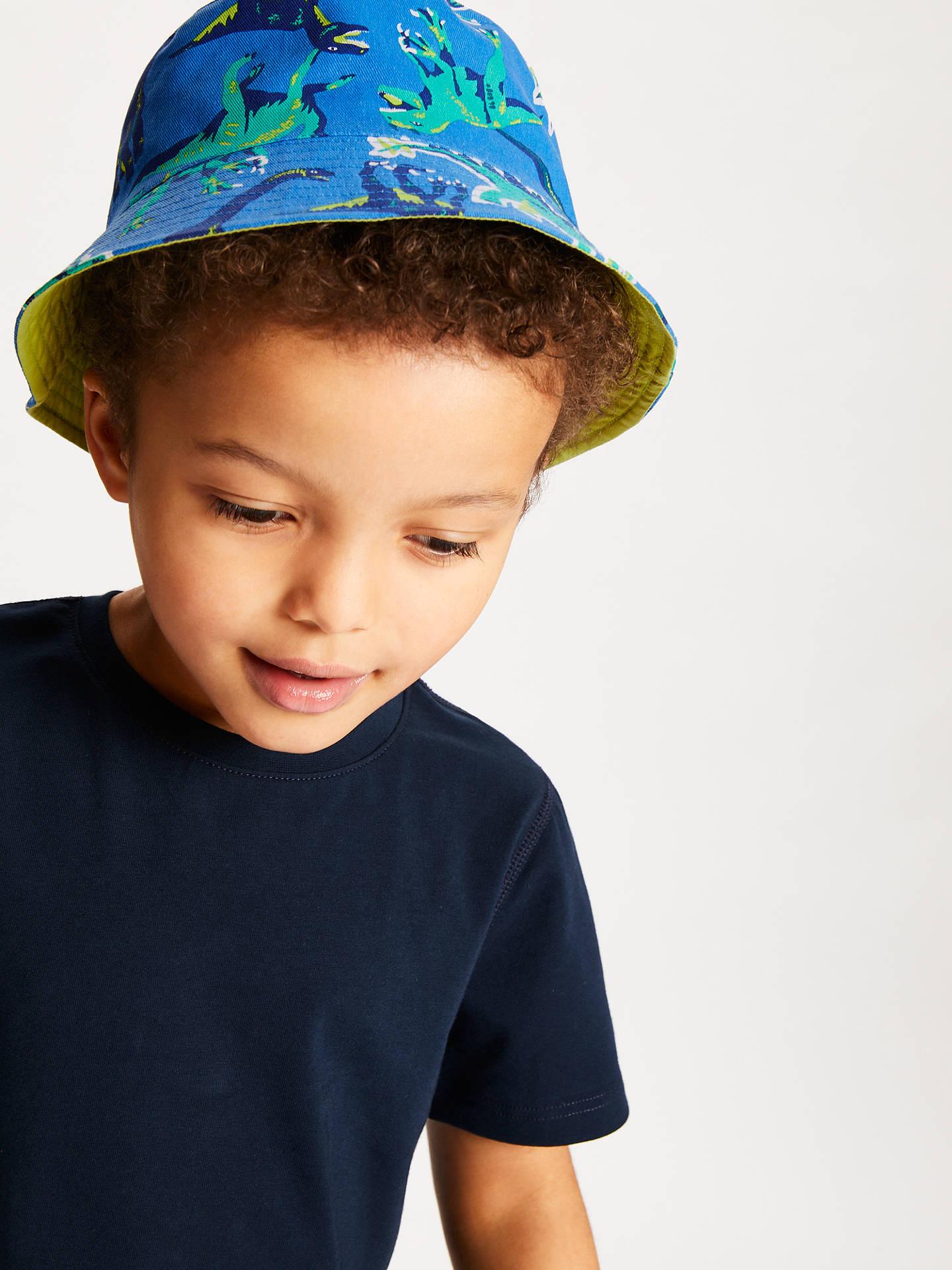 BuyJohn Lewis   Partners Children s Dinosaur Bucket Hat 777581873d2