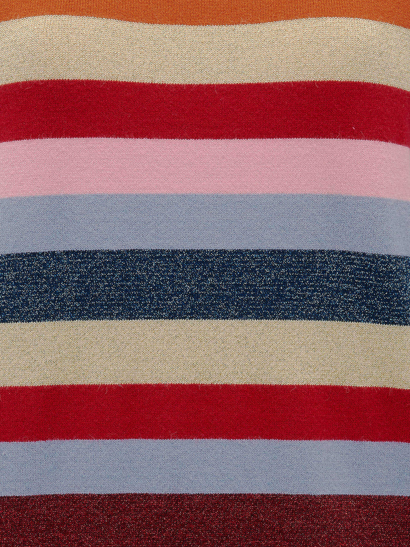 BuySugarhill Brighton Poppy Colour Block Stripe Jumper, Multi, 8 Online at johnlewis.com