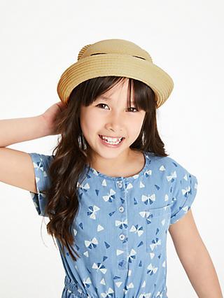 489b623563d John Lewis   Partners Children s Cat Straw Hat