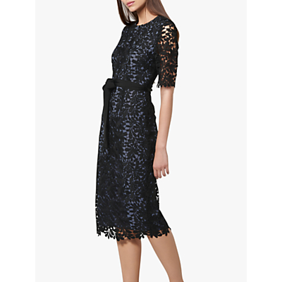 L.K.Bennett Leigh Dress, Blue/Black