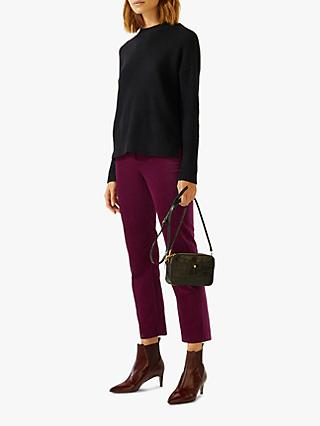 Jigsaw Velvet Cigarette Trousers