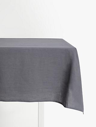 eec41893e John Lewis   Partners Linen Tablecloth