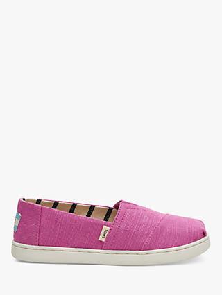 2ed65a7e013 TOMS Children s Alpagartas Casual Canvas Shoes