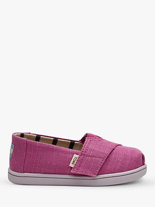 3bba300a28c TOMS Junior Alpagartas Casual Canvas Shoes