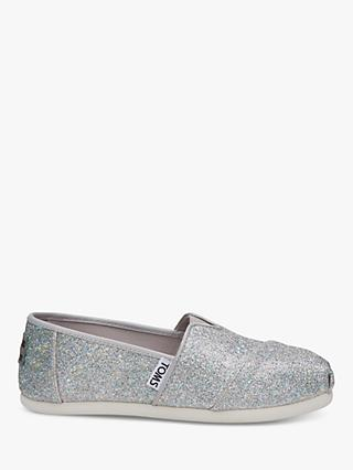 a9bd4398acd TOMS Children s Alpagartas Glitter Casual Shoes