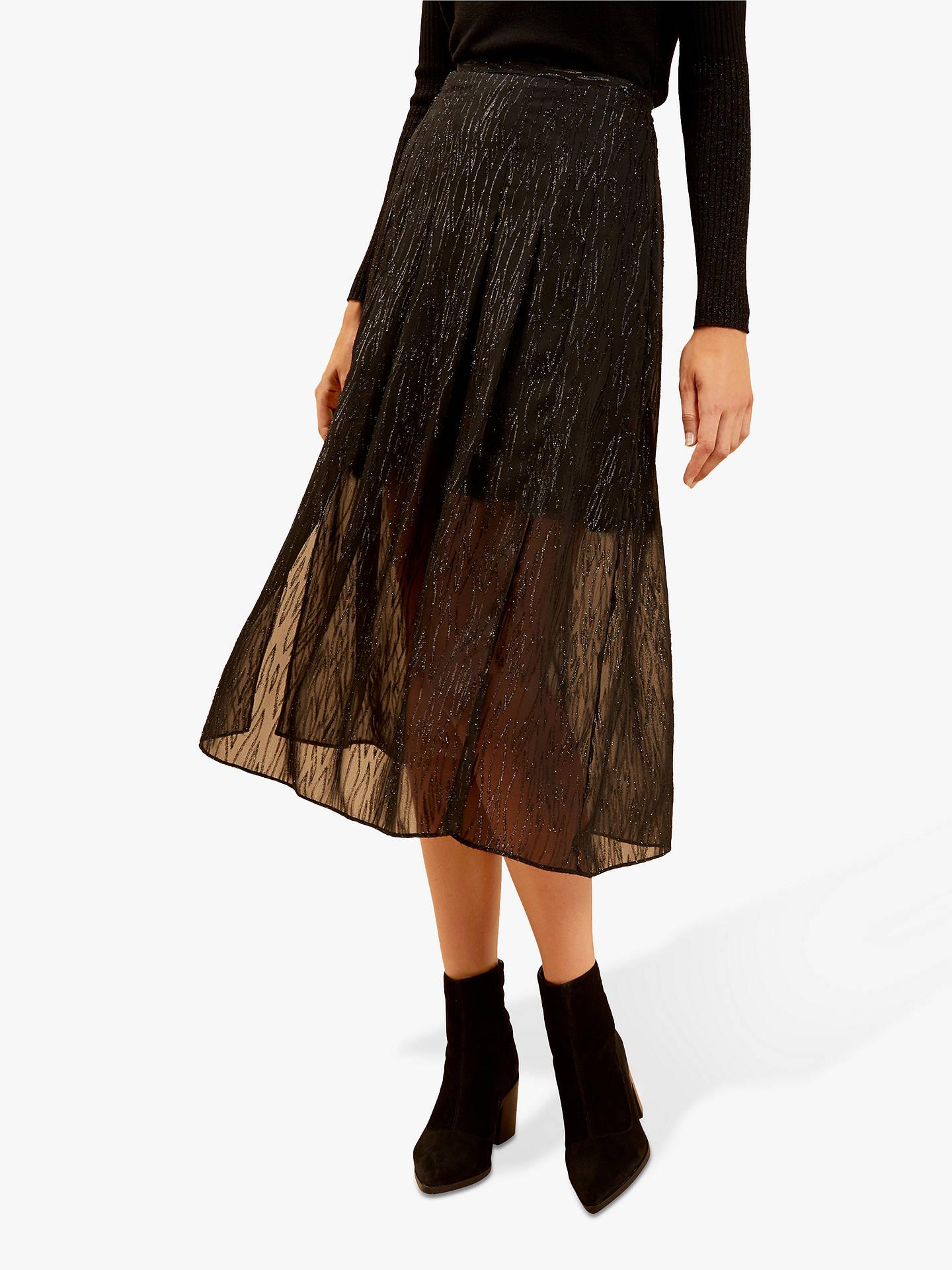 No Fuze Big Girls Courtney Denim Skirt