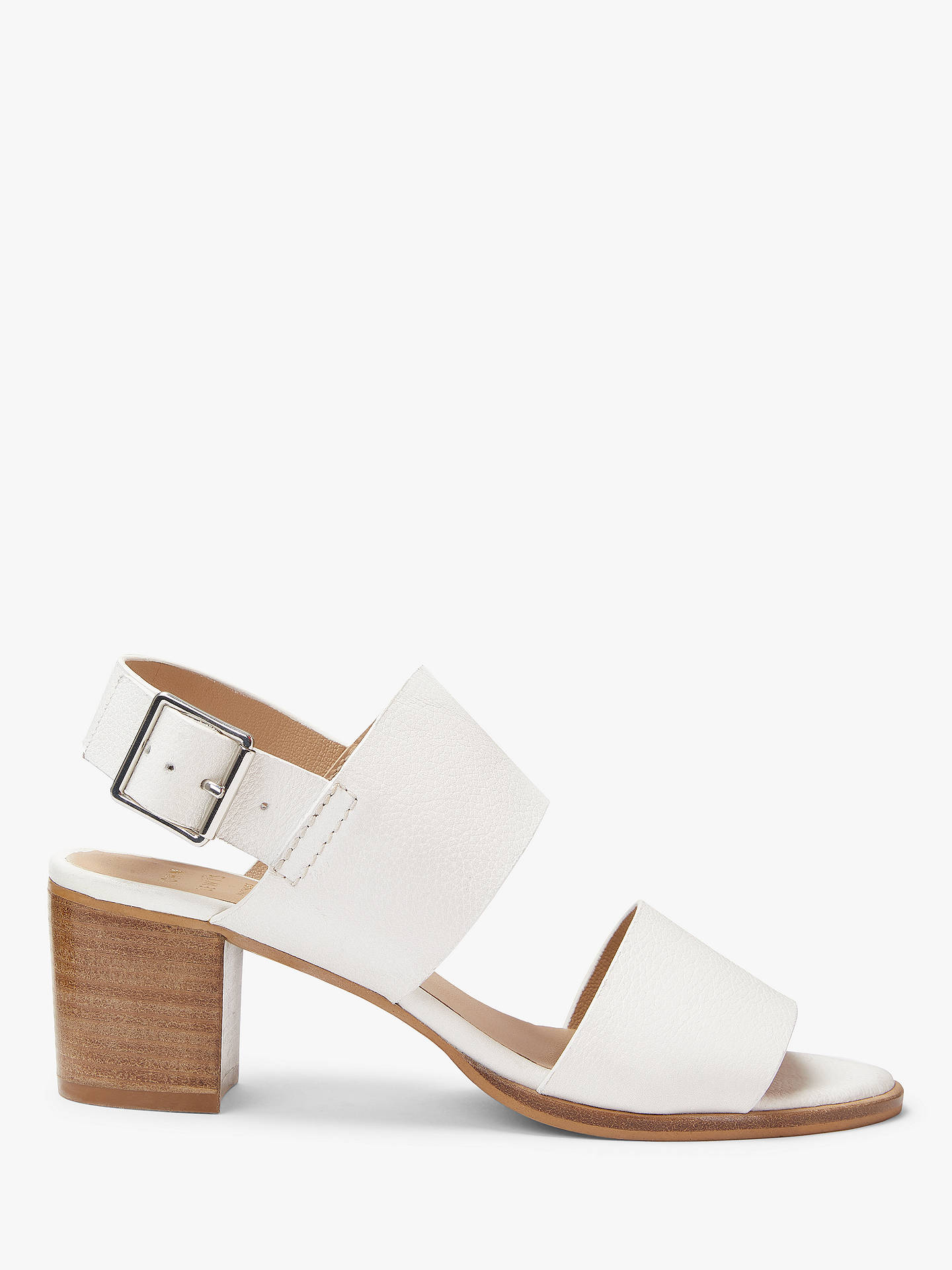 top brands latest pretty nice John Lewis & Partners Jess Block Heel Sandals at John Lewis & Partners