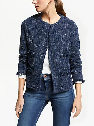 Weekend MaxMara Boucle Jacket, Ultra Marine