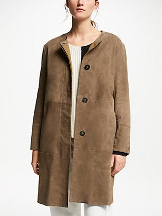 Weekend MaxMara Suede Jacket, Tobacco