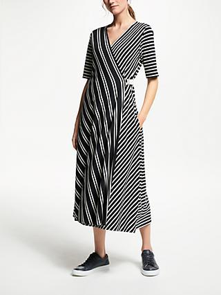 66a5243711a Weekend MaxMara Stripe Wrap Dress