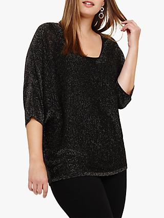 Studio 8 Darlene Shimmer Jumper, Black Multi