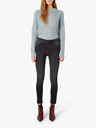 Iden Josephine High Rise Skinny Jeans, Washed Black