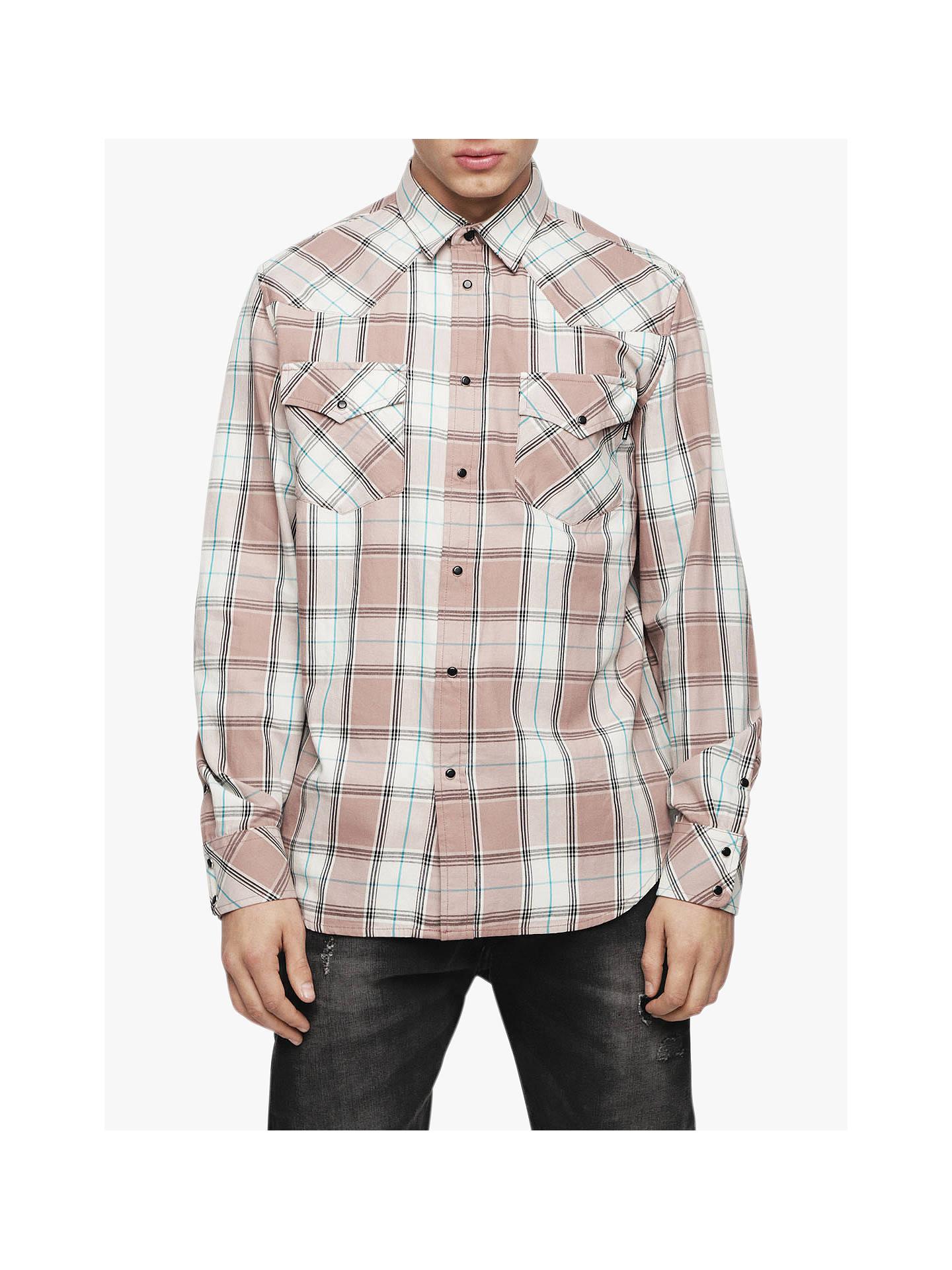 c867406314 Buy Diesel Western Long Sleeve Check Shirt