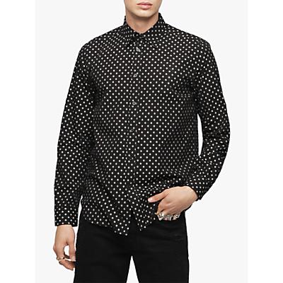 Diesel S-Jirou Allover Print Shirt, Black