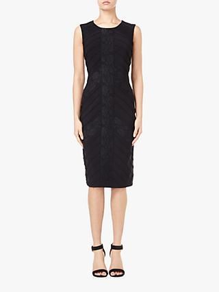 Adrianna Papell Matte Jersey Sheath Dress, Black