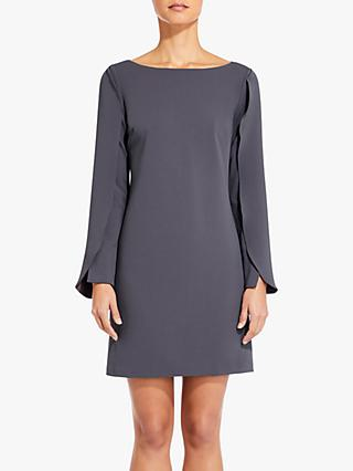 Adrianna Papell Knit Crepe Dress, Gunmetal
