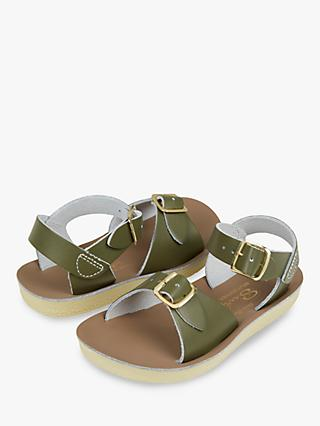 Salt-Water Children's Surfer Leather Sandals