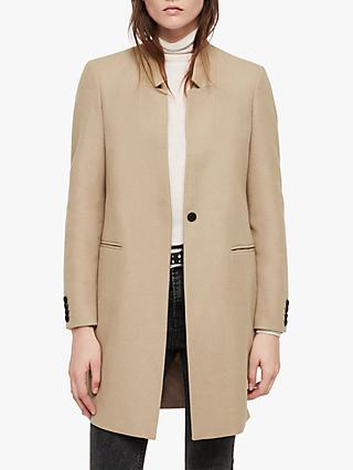 AllSaints Lyla Coat, Light Tan