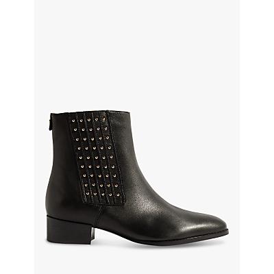 Karen Millen Stud Detail Ankle Boots, Black