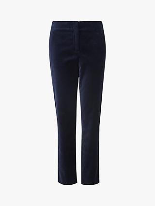 L.K.Bennett Roxanne Skinny Trousers, Blue Midnight