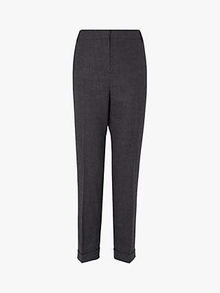 L.K.Bennett Zayda Tailored Trousers, Grey