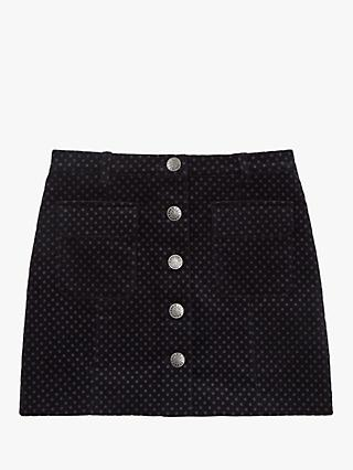 Jigsaw Girls' Button Through Spot Skirt