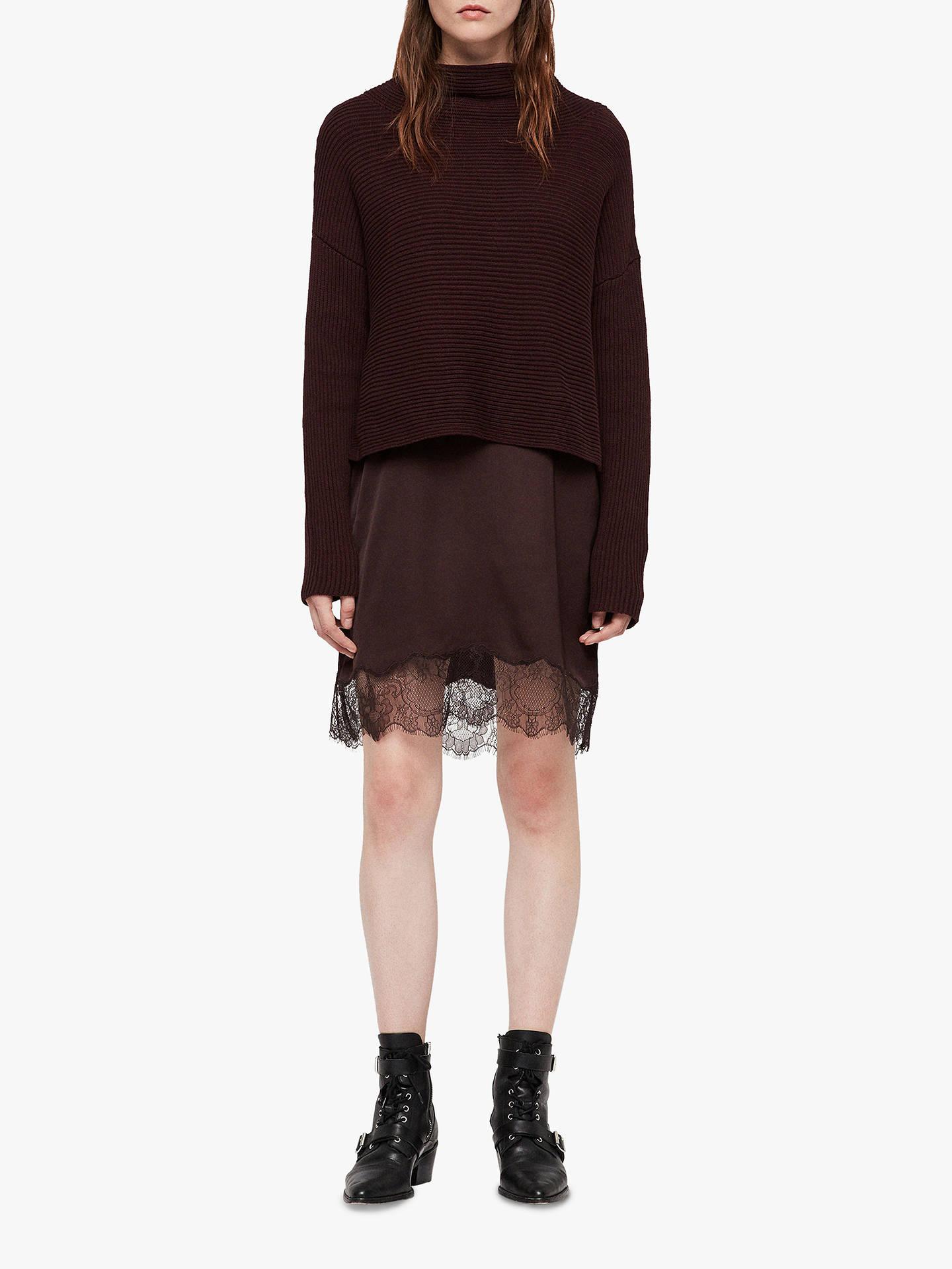 AllSaints Eloise Long Sleeve Dress at John Lewis & Partners