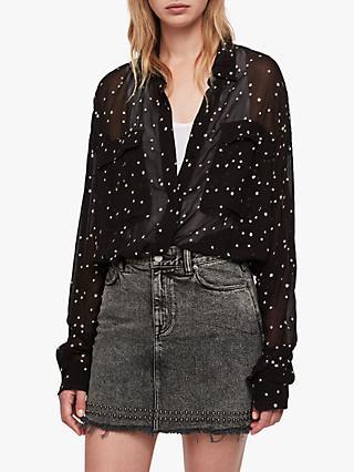 b05afea7c937 AllSaints Amari Star Shirt
