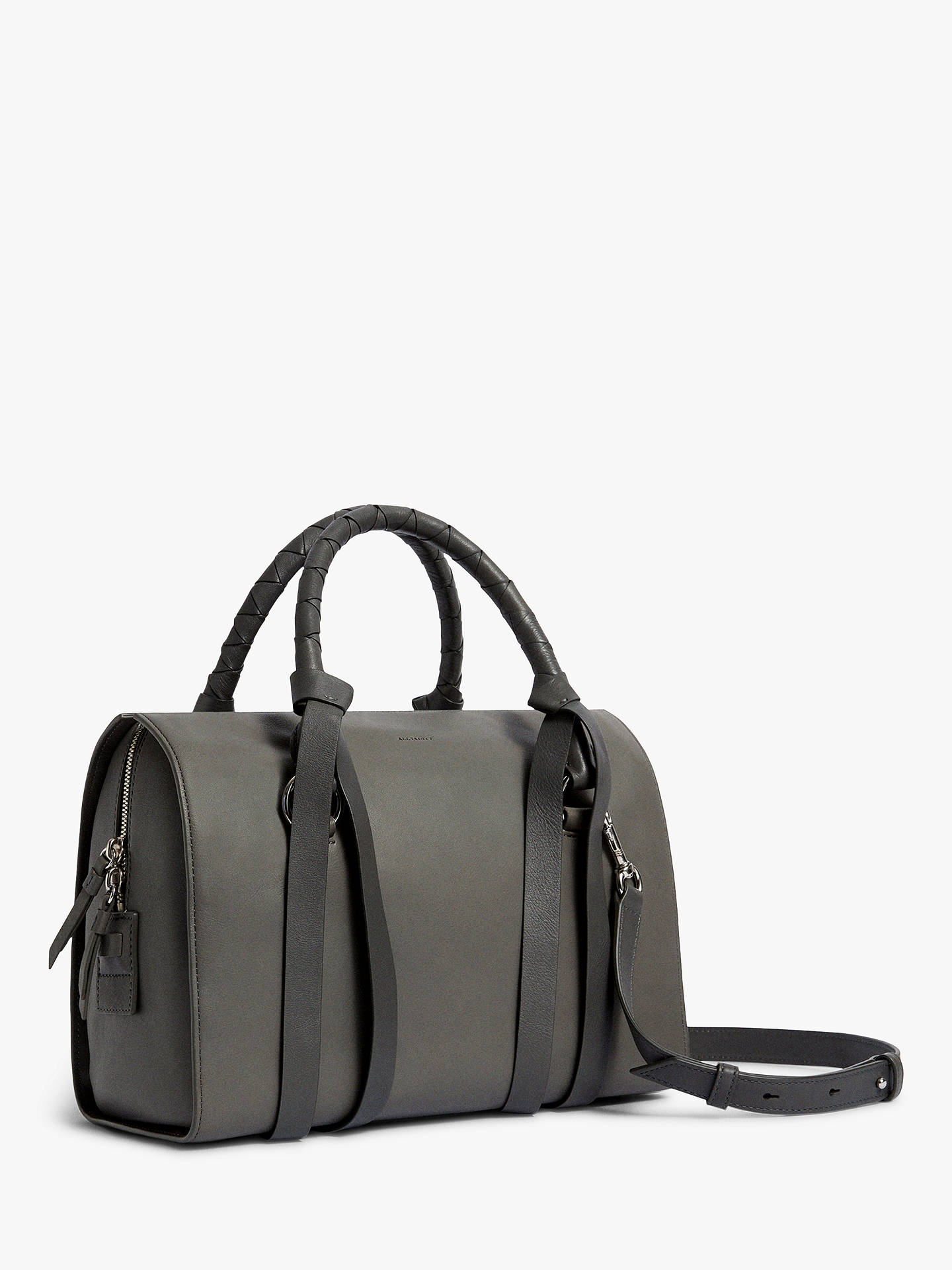 9902dceccf49 ... BuyAllSaints Voltaire Leather Bowling Bag
