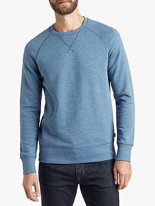 b9f243c8 BOSS French Terry Sweatshirt, Open Blue