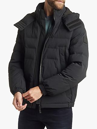 BOSS Prima Loft Bomber Jacket, Black