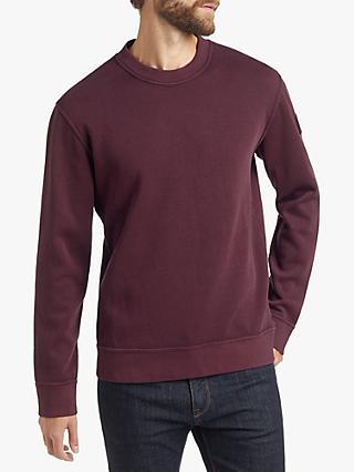 2808cb9a BOSS French Terry Sweatshirt, Light/Pastel Purple