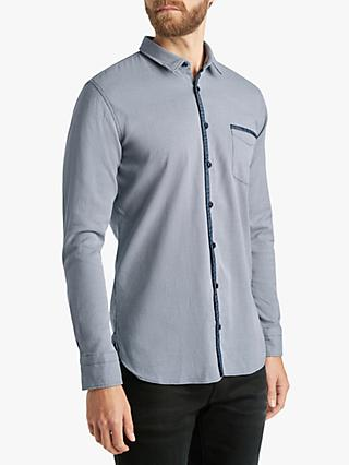 ff62f0aa0bc BOSS Birdseye Long Sleeve Slim Shirt
