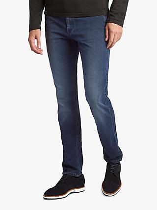 BOSS Delaware Slim Fit Jeans, Medium Blue