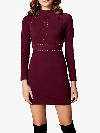 Karen Millen Stud Embellished Bodycon Dress