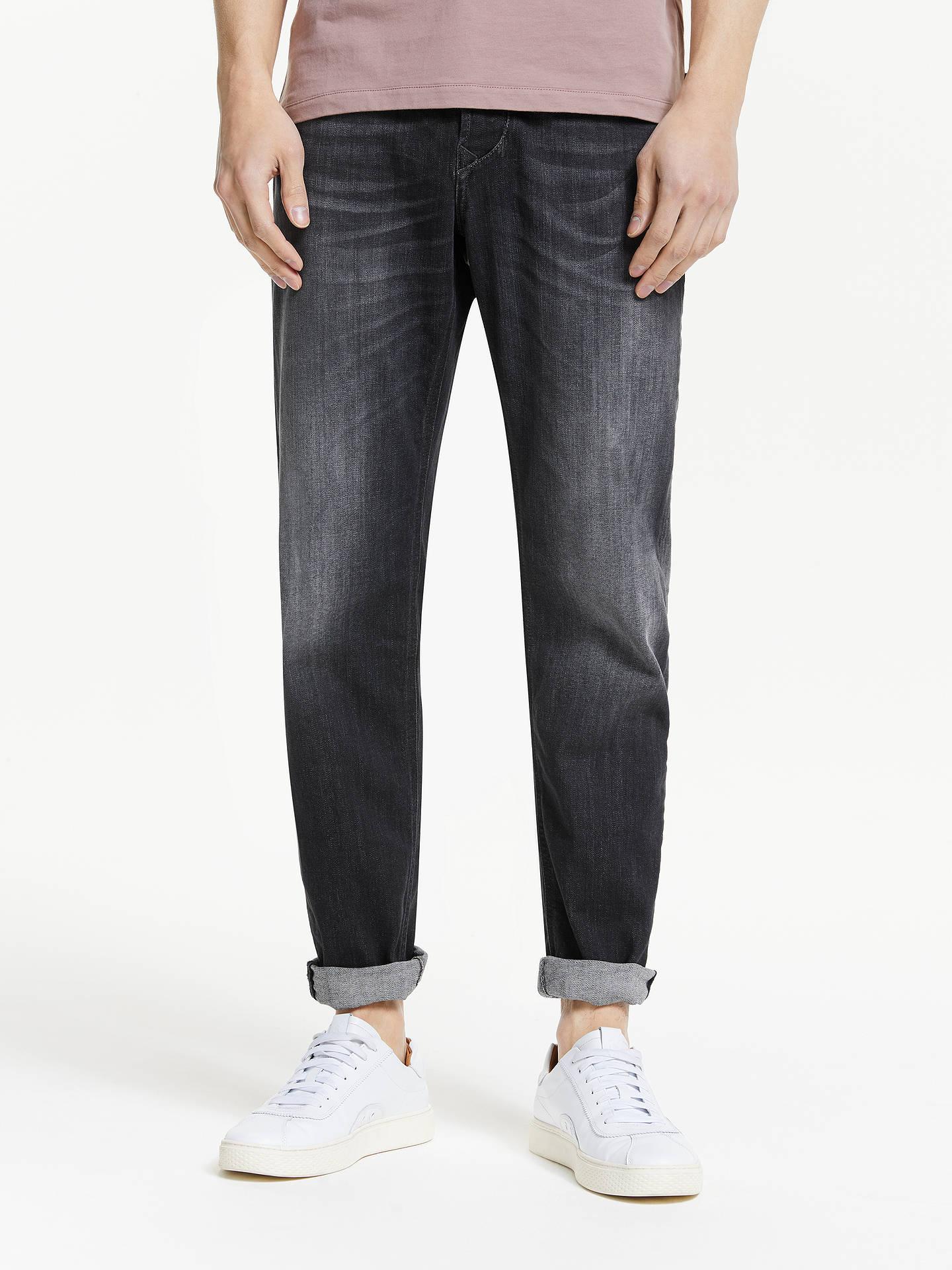 94d04472 Buy Diesel Larkee-Beex Slim Fit Jeans, Black, 30S Online at johnlewis.