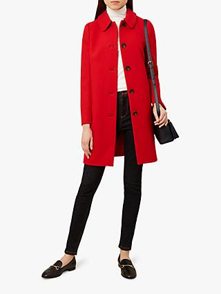 Hobbs Carron Coat, Red