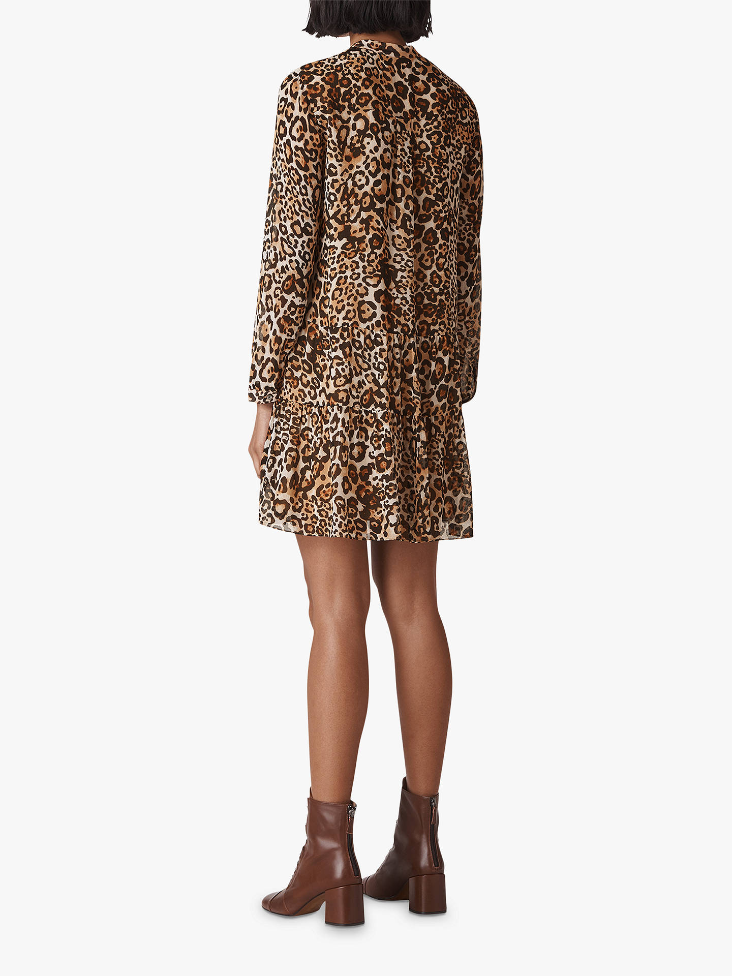 d0490c7d5fec7 ... Buy Whistles Animal Print Shirt Dress