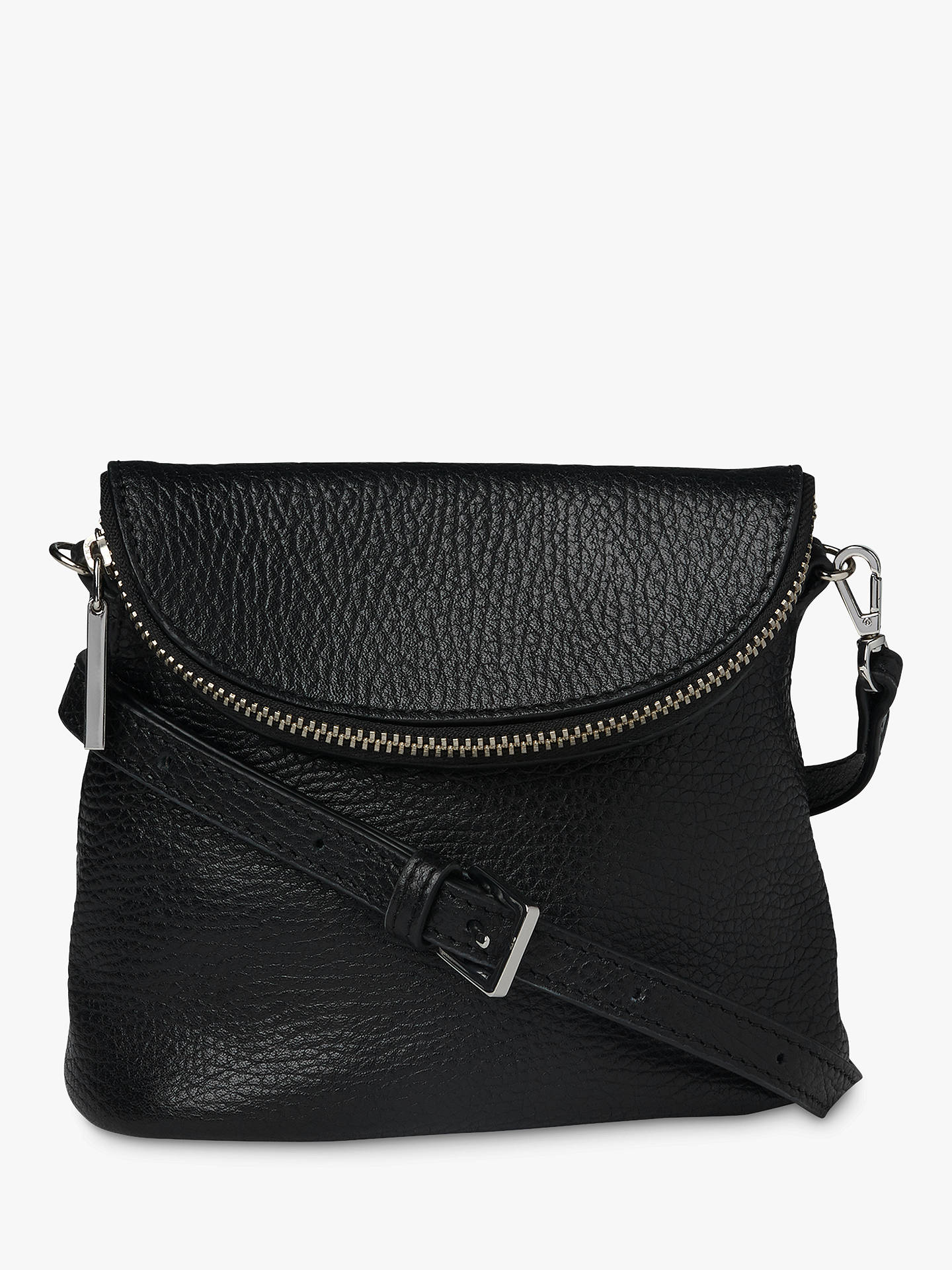 d9d0b38a7161 Buy Whistles Victoria Mini Cross Body Bag, Black Online at johnlewis.com ...