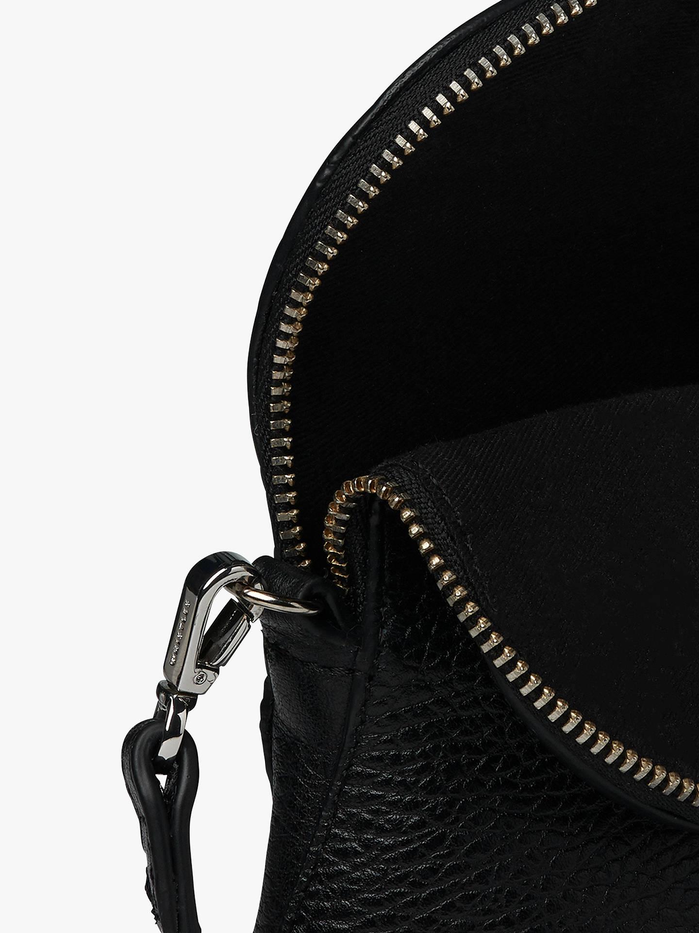 7f9c37a5eb78 ... Buy Whistles Victoria Mini Cross Body Bag, Black Online at johnlewis.com