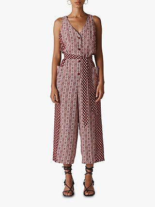 a866d450a7 Whistles Woodblock Print Jumpsuit