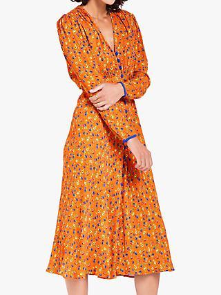 a7129c2fa9 Ghost Faith Crepé Midi Dress