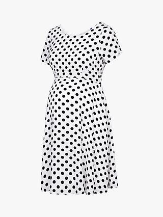 f95670de69 Séraphine Bonnie Spot Maternity Dress