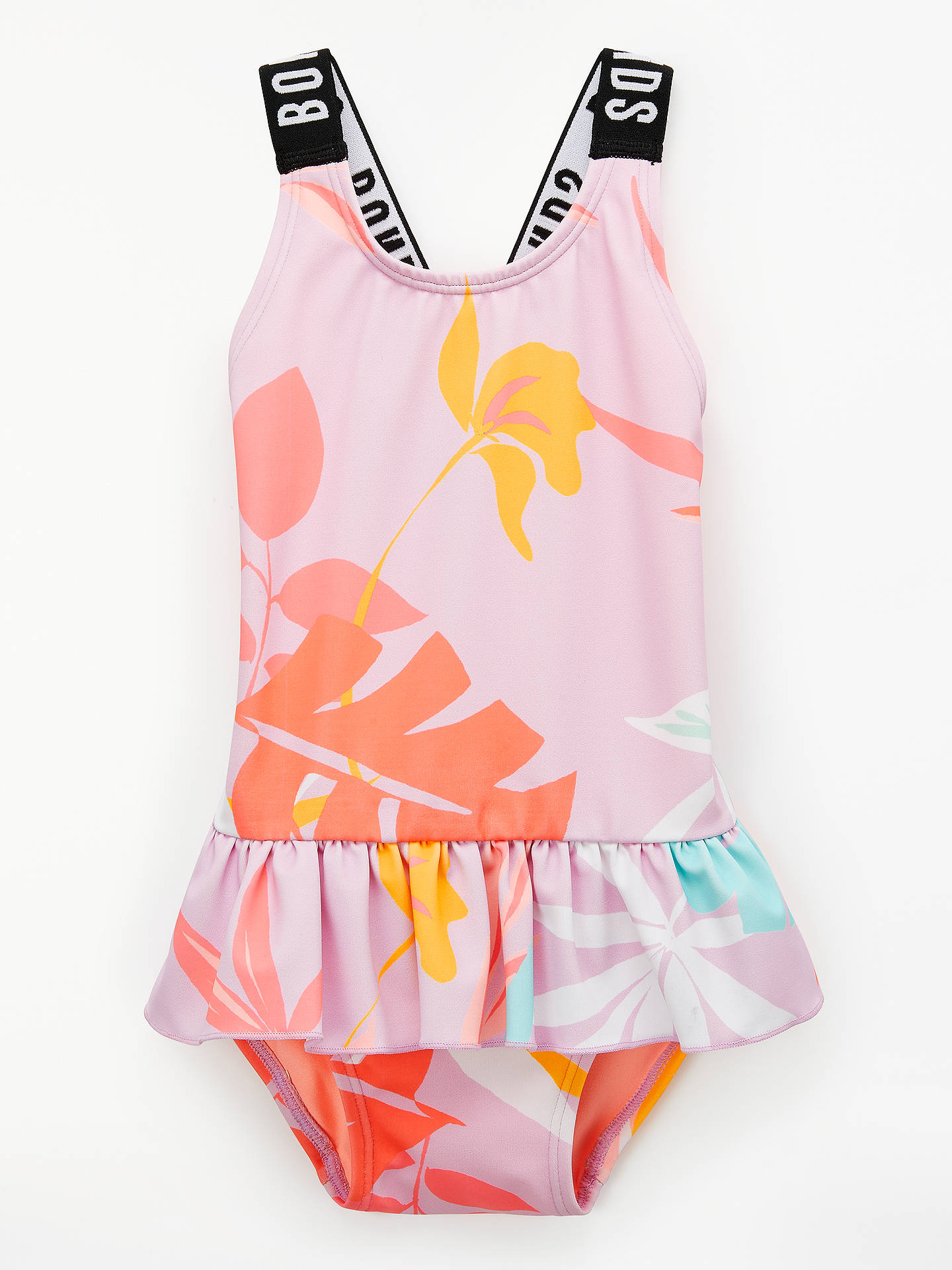 e0ed73b4e86d Buy Bonds Baby Tropics Frill Hem Swimsuit, Pink, 3-6 months Online at ...