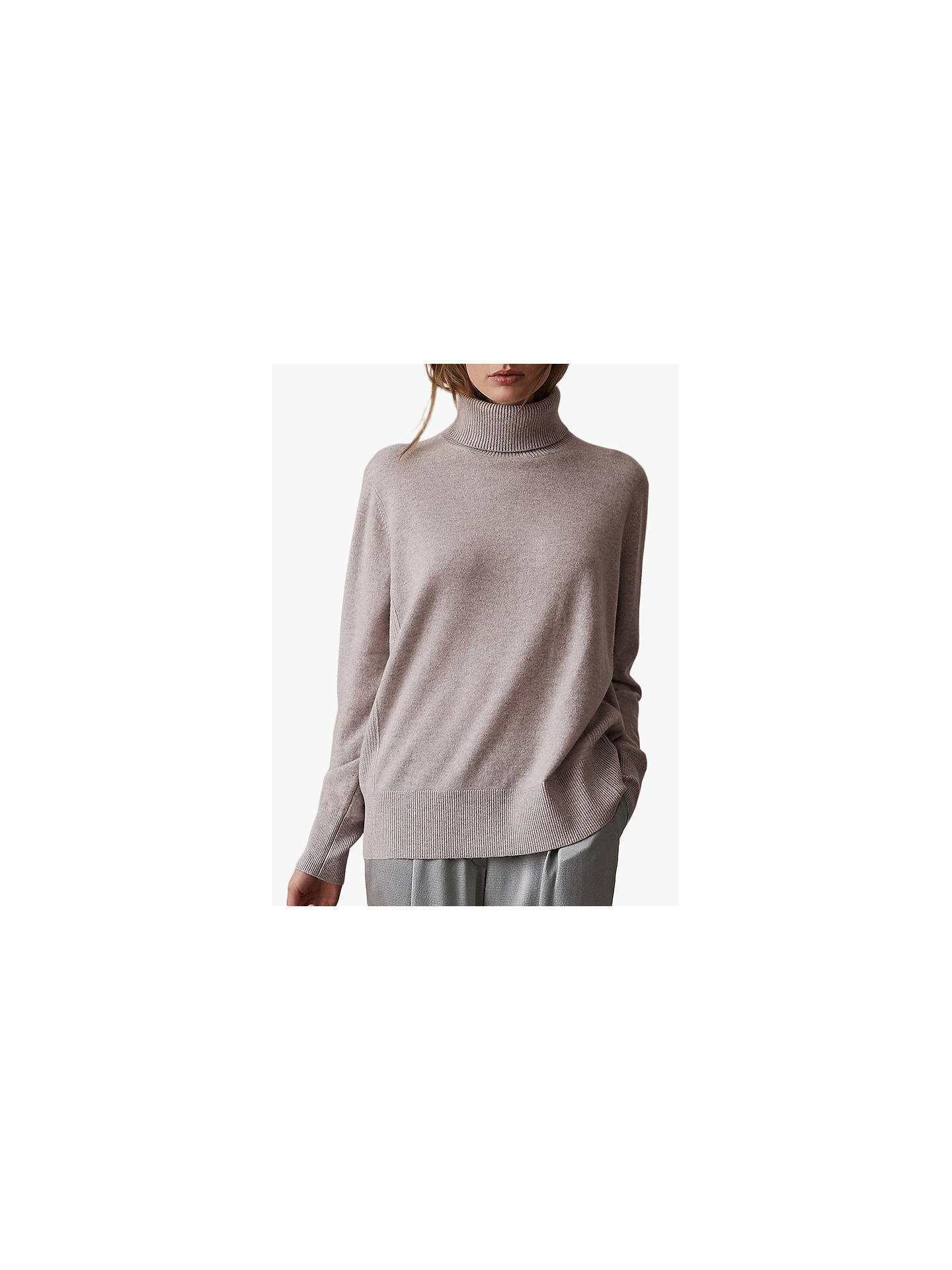 615c7a277 Buy Reiss Clarissa Cashmere Roll Neck Jumper