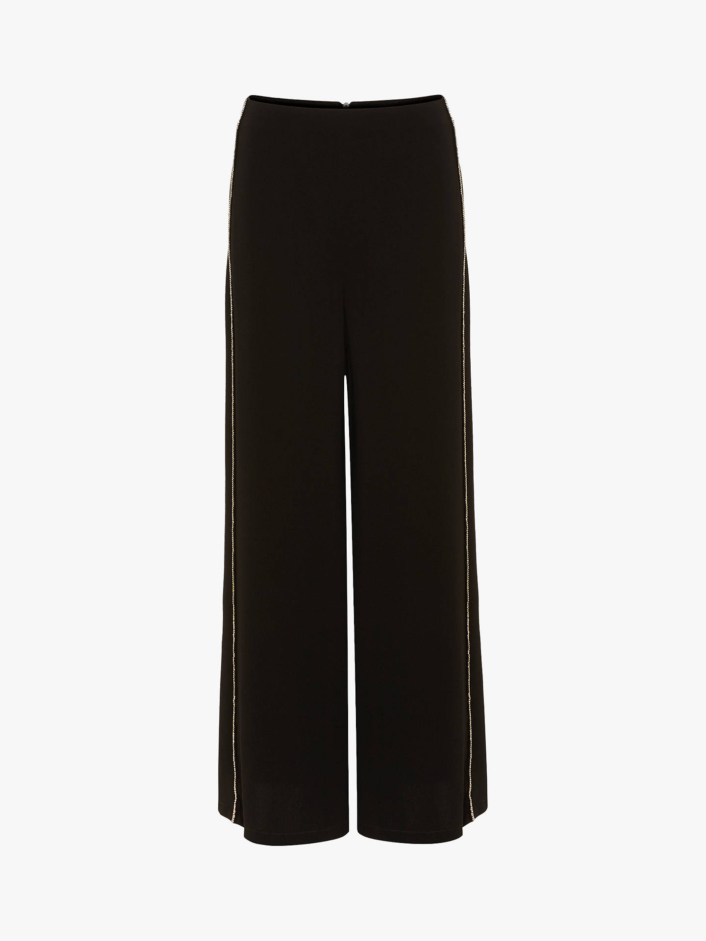 BuyPhase Eight Safia Diamante Trousers, Black, 8 Online at johnlewis.com